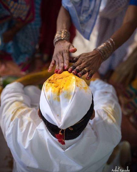 Haldi.. www.aniketkanade.com Instadaily Instagram Instahub Weddings India Haldi People Rituals Puneinstagrammers Mumbaikar Puneclickarts Oye  Aniketkanade