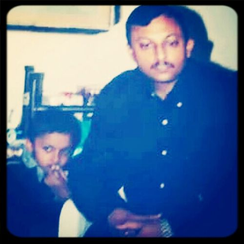 me and daddy ....... Awsome Childhood ........ thnx dad
