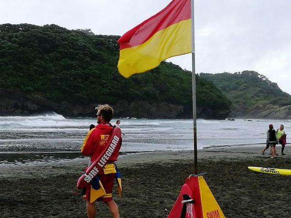 Surf Life Saving Bethell's Beach Auckland Beach New Zealand New Zealand Natural