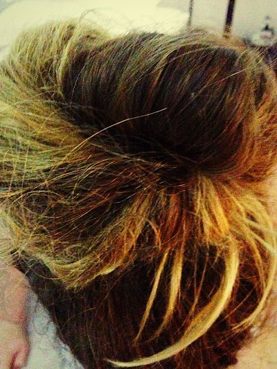 Bun Hair Messy Pretty Taking Photos Check This Out Hanging Out