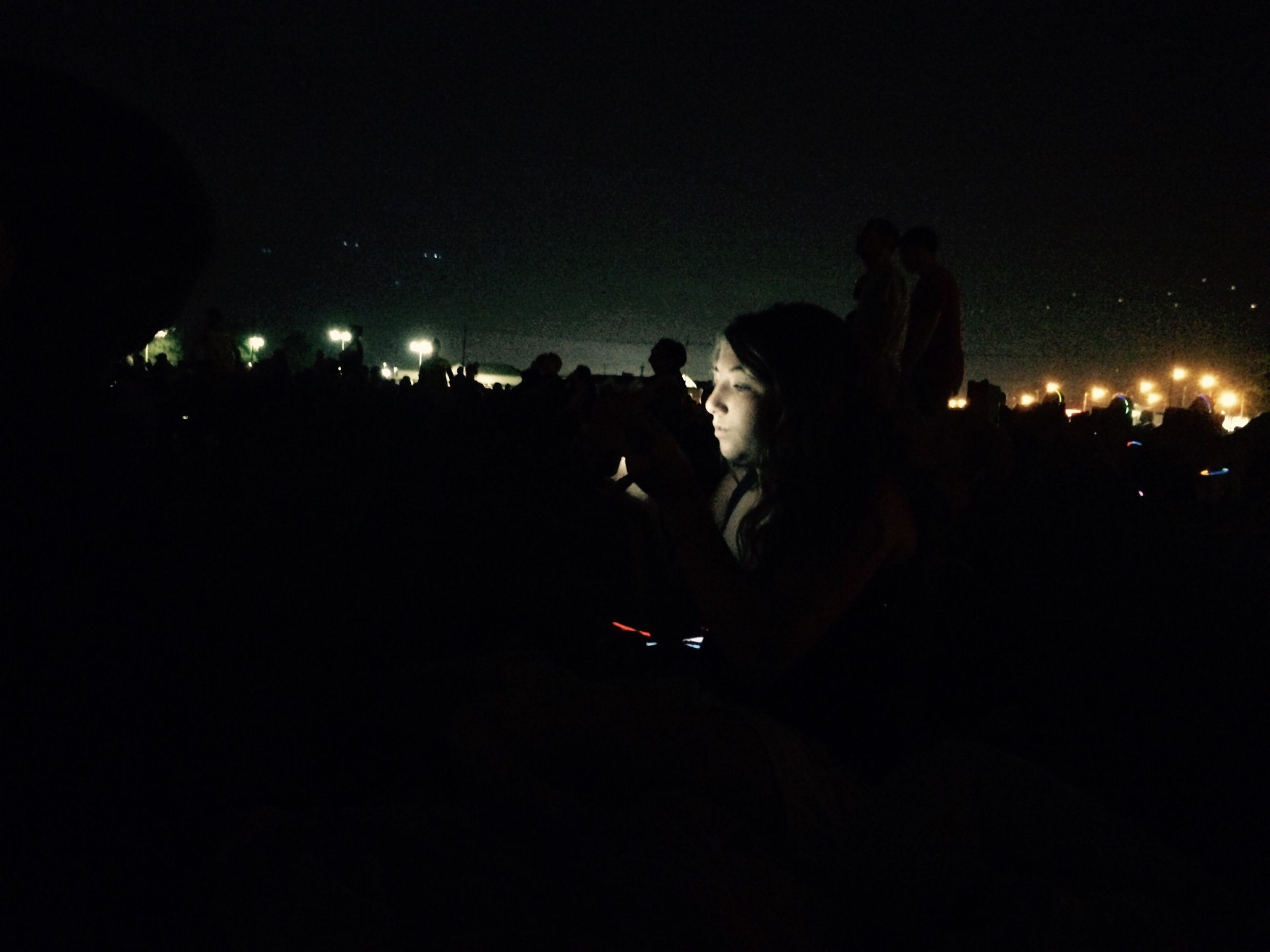 night, illuminated, lifestyles, men, leisure activity, arts culture and entertainment, performance, music, silhouette, nightlife, large group of people, person, event, dark, crowd, enjoyment, concert, youth culture