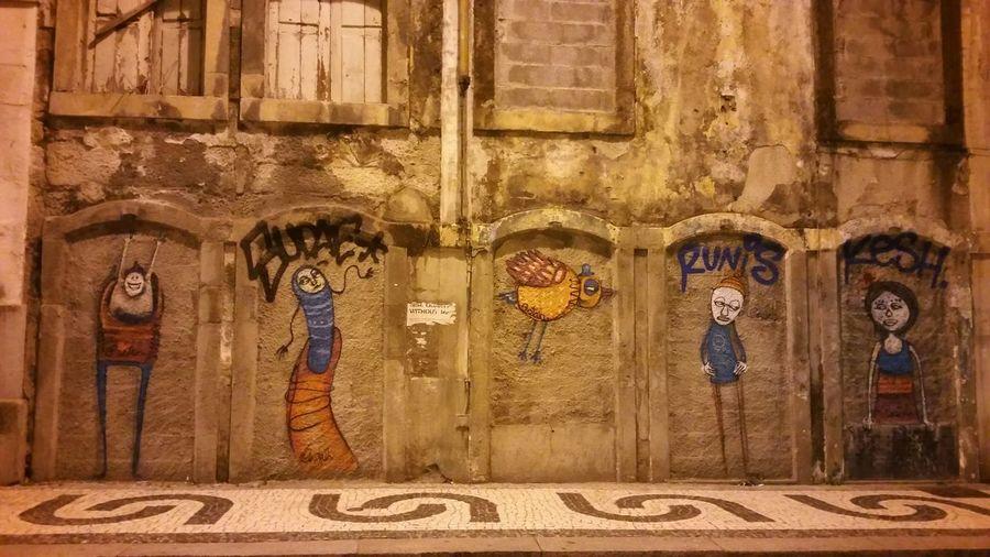 Porto Streetart Graffiti Grafitti Costah