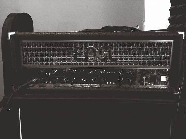 Amplifier Guitar Amplifier Rehearsal Metal Blackandwhite Black And White Black & White