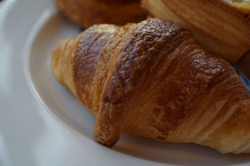 Croissant Food And Drink Food Bread Freshness Still Life Baked Close-up Plate Ready-to-eat Table