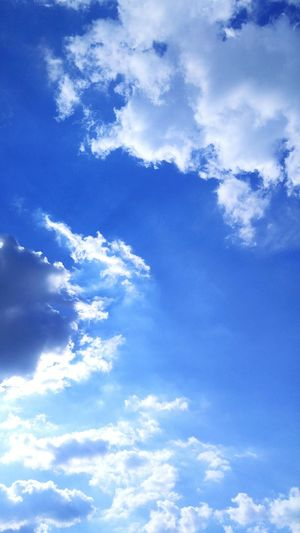 Sky Cloud - Sky Nature Blue No People Day Outdoors Beauty In Nature Cloud And Sky Cloud Cloudy Sky 하늘하늘 하늘 하늘사진 구름 몽실몽실