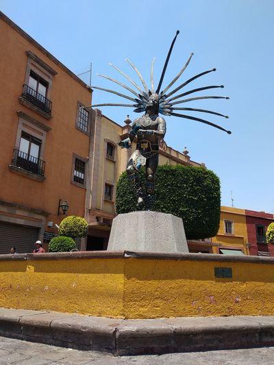 Querétaro, México Warrior Mexicanwarrior Querétaro Mexico Sculpture Nofilter