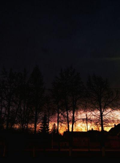 Sunset Sun Almetyevsk Kazan Photography