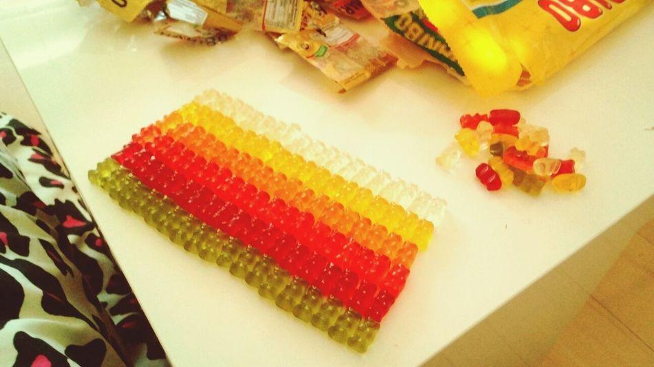 Haribo Gummy Bear Army Yummi :)
