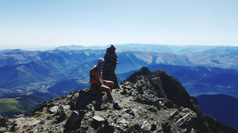 Pyrenees Mountains Summit Summit View France Wild Wildlife Wildlife Photography Skyrunning Sky Sun Summer Paradise Father Father & Son Family Thisiswhyweplay Running Enjoy