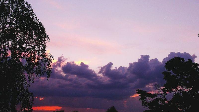 Мое небо, до луны и обратно!