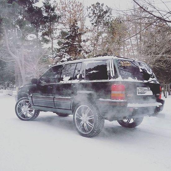 снег Jeepgrandcherokeeclub Grandcherokee  Zjmafia Zjfamily Grandzj Dubstyle Vctwheels R22 Dagestan Kaspiysk Mnsrclub