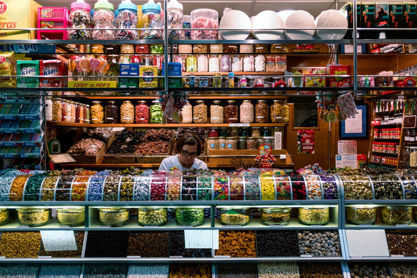 SMALL PARADIESE Fourdayspalma Retail  Choice Store Shelf One Person Variation Food And Drink Food Supermarket Large Group Of Objects Shopping Indoors  Abundance Retail Display Women For Sale Arrangement Adult Real People Sale Hairstyle