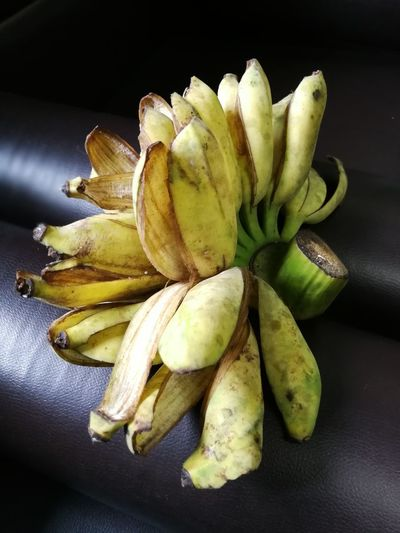 Banana Banana Black Background Close-up Day Food Food And Drink Freshness Fruit Healthy Eating Indoors  No People