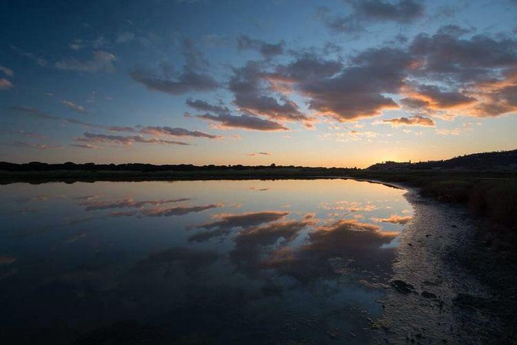 Landscape_Collection Landscape Sunset Sunset #sun #clouds #skylovers #sky #nature #beautifulinnature #naturalbeauty #photography #landscape