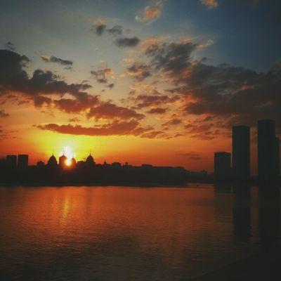 River Riverside Water Sunset Awesome Relaxing Taking Photos Hi! Enjoying Life Hello World