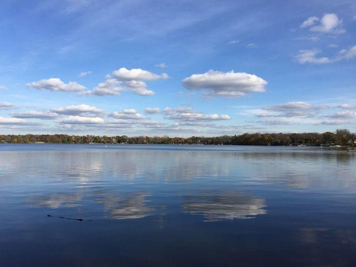 Lake Lake View Lakeshore Reflection Water Reflections