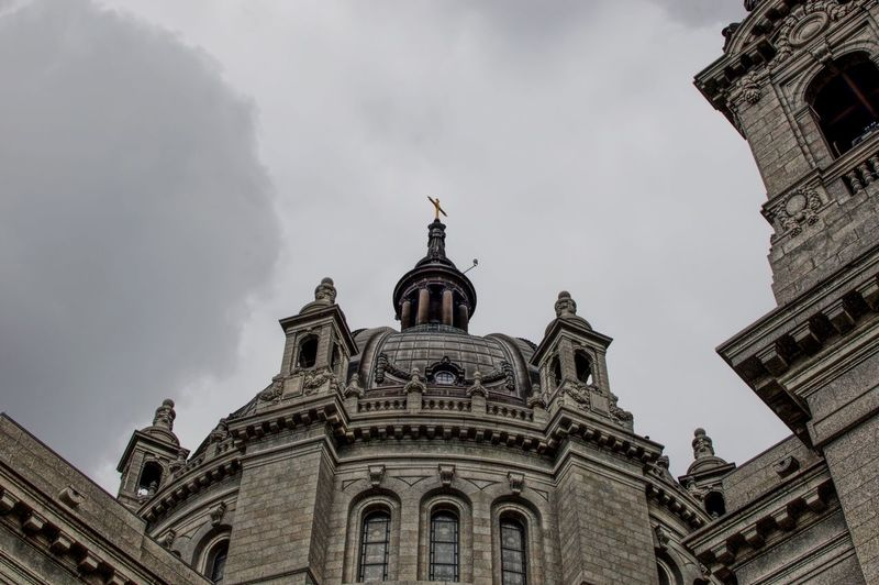 St Paul Cathedral Architecture Building Exterior Low Angle View Cloud - Sky History Sky Minnesota Photographer Dome Eyemphotography