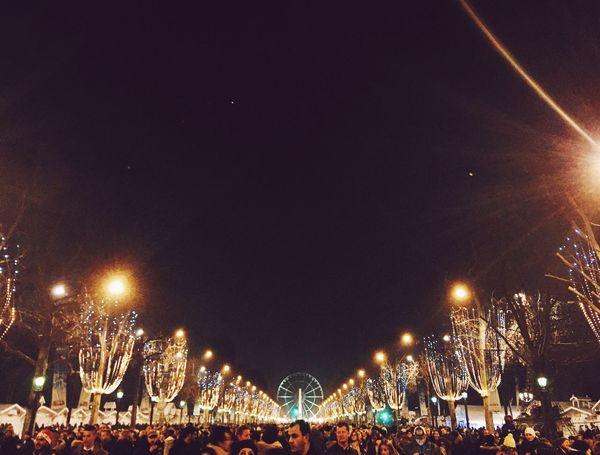 Paris Happynewyear
