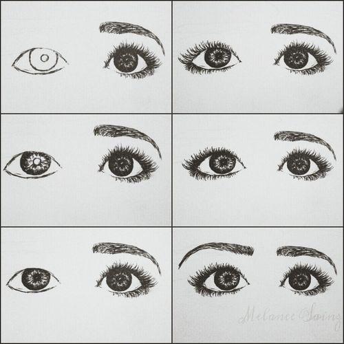 Draw Eyes My Drawing Drawing Process ;3