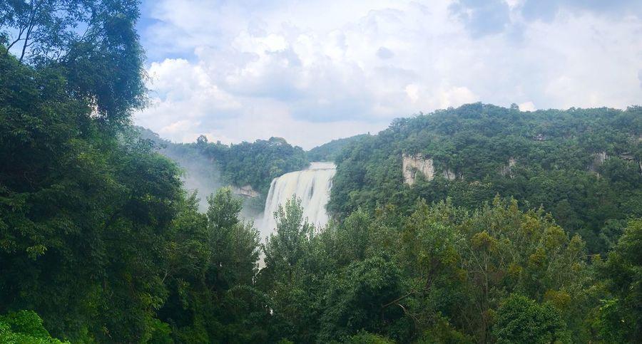 贵州黄果树瀑布 瀑布