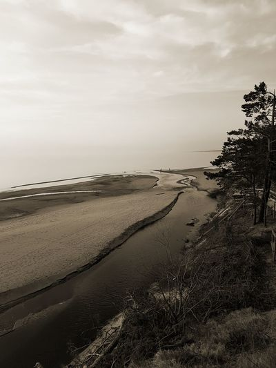 Sunset Sanset The San Rampage  Black And White Water Sea Beach Sand Dune Sand Sky Horizon Over Water Landscape