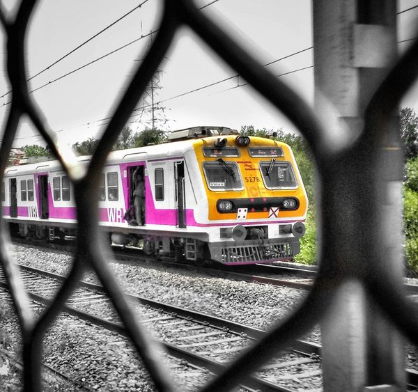Mumbailocal Lifeline Of Mumbai Communication Transportation Mode Of Transport Land Vehicle Public Transportation Train - Vehicle Outdoors Text Connection City No People Day Subway Train Architecture Mumbaimerijaan MumbaiDiaries Mumbai_uncensored