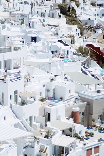 Abundance Arrangement Cave House Day Elevated View Greece Island Islandlife No People Outdoors Residential District Vacation