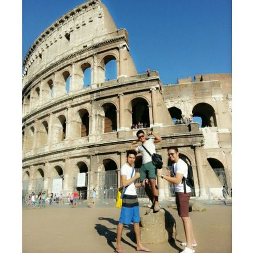Visited the Colosseum in Rome today. It was a great experience! Rome Colosseum Eurotrip Jetlag amazing