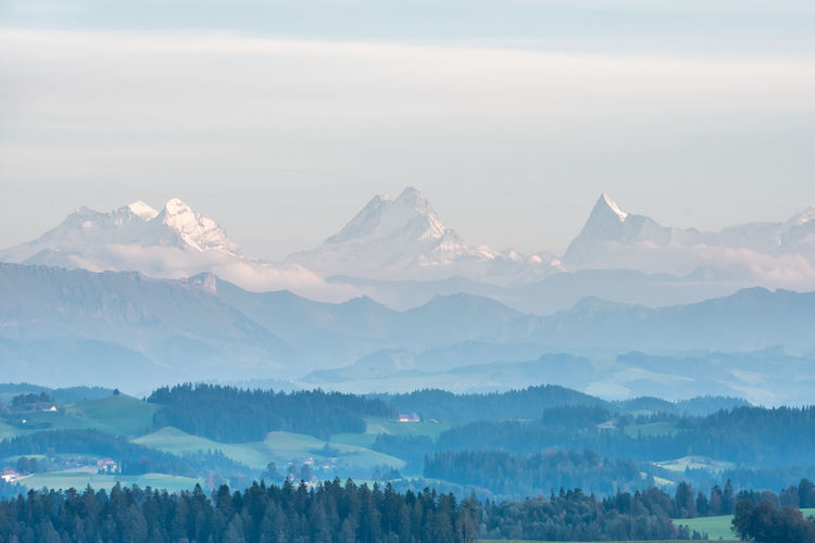 Swiss alps and the Emmen valley Alpen Alps Emmental Landscape Landscapephotography Mountain Mountain Peak Mountain Range Nature Nikon Nikon D750 Scenics Sky Sunset Swiss Alps Switzerland Travel Traveler Traveling