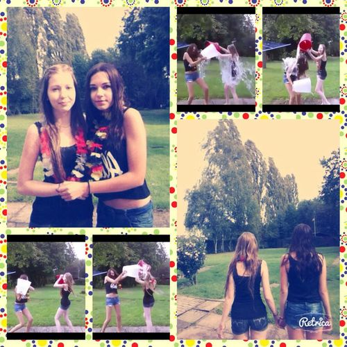 Love ♥ My Sister I Accept ALS Ice Bucket Challenge it was sooo cold - but fun :)