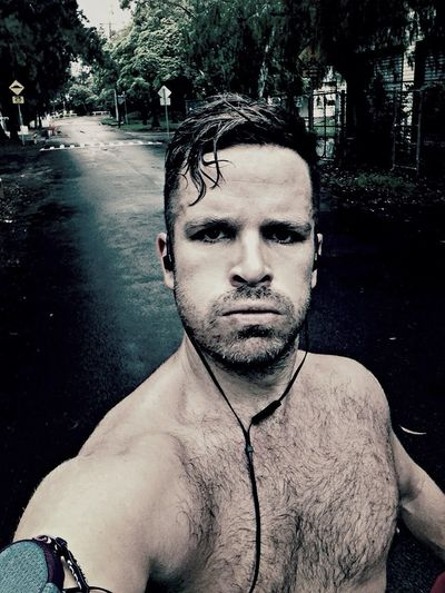 Running in the rain!!! Self Portrait Selfportrait Selfie Running Faces Of EyeEm People Australia IPhoneography ThatsMe