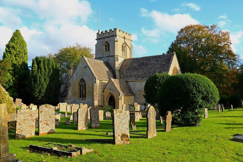 St Kenelm's Church Cemetery Village Church Old Tombstone Cemetery Grass The Past Spirituality Day Cloud - Sky History Religion Architecture Built Structure Gravestone Building Exterior Memorial Graveyard Outdoors No People Tree Sky