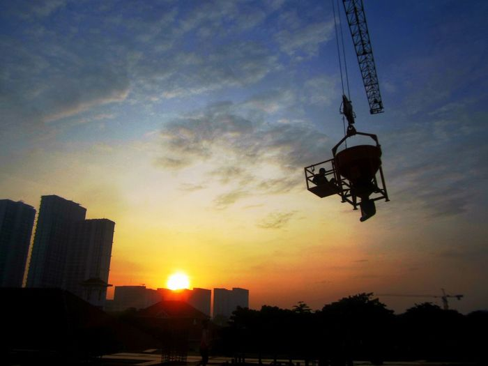 My Year My View still work In Morning Sky Cloud - Sky Day Beauty One Man Only Outdoors First Eyeem Photo City Nature Taking Photos Work with Bucket Travel Destinations Architecture INDONESIA