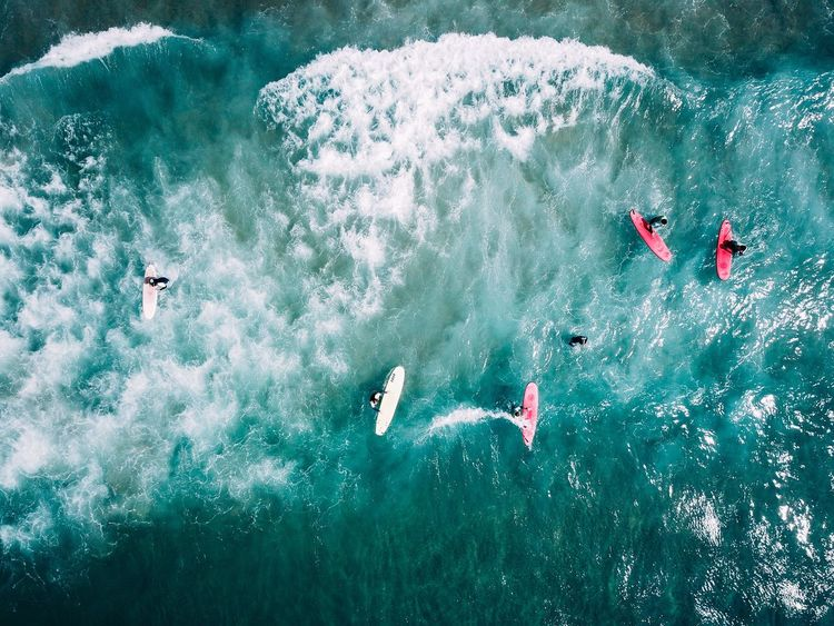 Waves & Surf Adventure High Angle View Motion Day Outdoors Water Real People Nature Sport People Swimming Sand & Sea Surfing Life First Eyeem Photo Sea Wave Dji DJI Mavic Pro Drone Photography Dronephotography Aerial Nature Swimming Perspectives On Nature EyeEmNewHere Be. Ready. EyeEmNewHere Perspectives On Nature Fresh On Market 2017 The Great Outdoors - 2018 EyeEm Awards The Traveler - 2018 EyeEm Awards