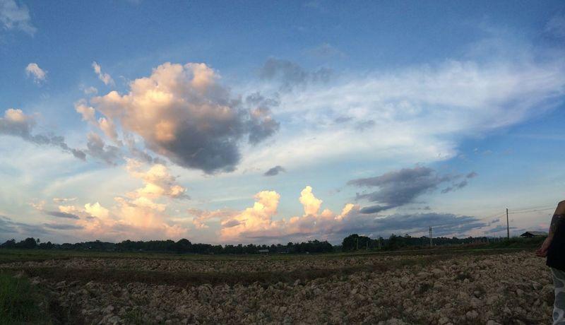 The sky of Nan Sky Field Cloud - Sky Landscape