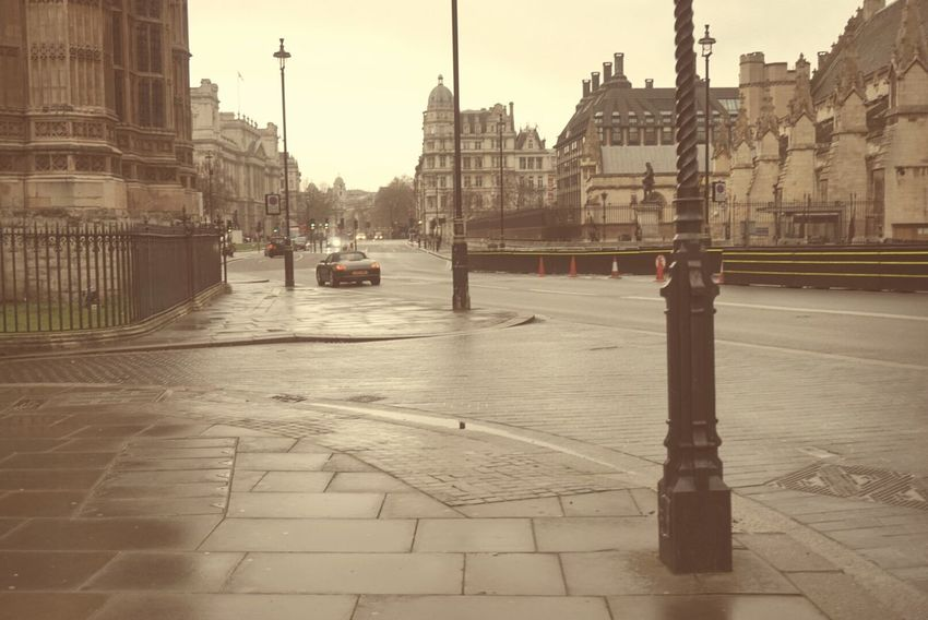 London Rainy Day