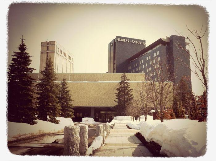 レッスンしにヤマハセンターへ☆パークホテル前は、気分がしゃんとして、いい感じ☆