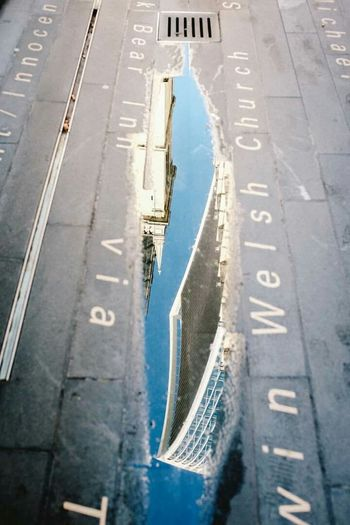 London WalkieTalkie 500pxGPW15 Water Reflection Walking Around Urban FujiX100T Capture The Moment I Love My City The Changing City RePicture Growth How Do We Build The World? Postcode Postcards