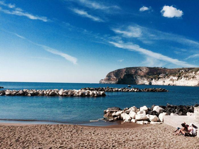 Beach Sea Rocks