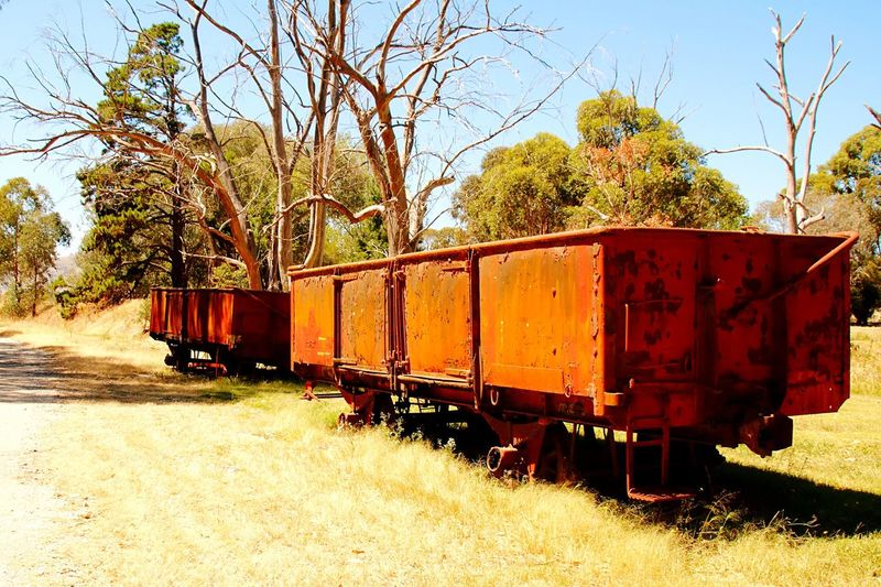 On my way.. Outdoor Pictures Travelphotography Rusty Things Outdoorphotography Outdoor Australia Outdoor Photography Travel Photography Wagon  Rusty Rusty Old Machine Wagonlove Trainwagon Trainphotography Railway Railwayphotography On My Way On My Travels Old Wagon Old Tracks Oldtrainrailway