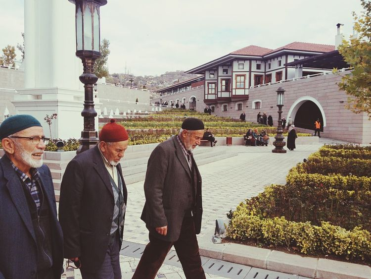 Real People Sky Standing Day Men People Outdoors Old Man