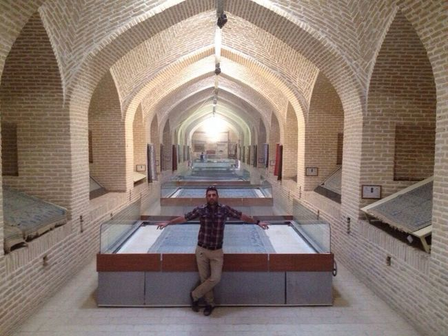Ziloo Carpet Museum meybod .Yazd That's Me