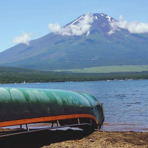 Mt.Fuji 山中湖 Near And Far Mountain