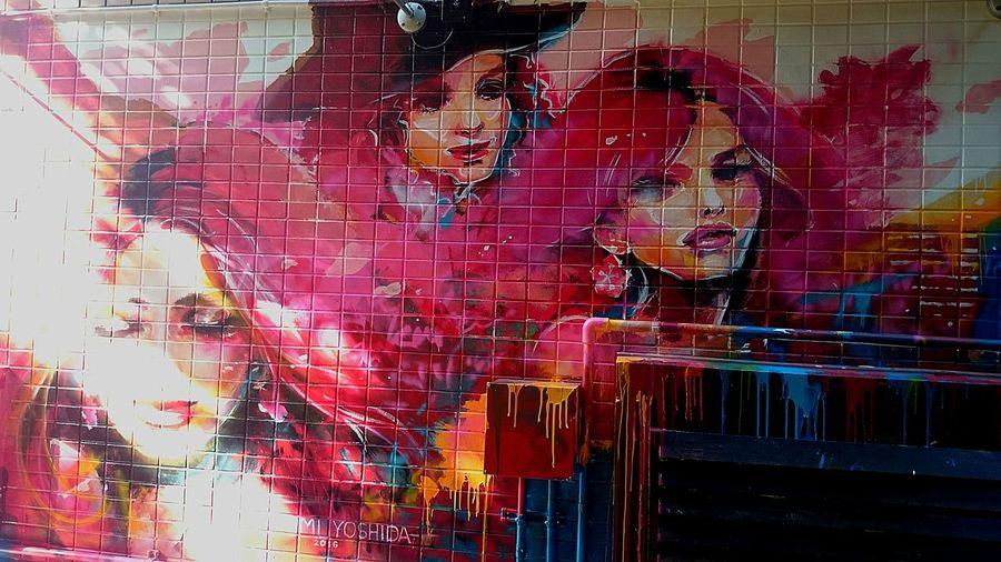 原宿 Street Photography Street Art Bijin Painting Art Fragility