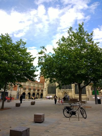 European Landscape City Landscape Bicycle Tree Architecture Church Hull City Of Culture 2017 Hull 2017 Hull City Hull Old Town
