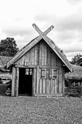 Photos taken at Yorkshire Farming Museum in Murton near York, a few years ago York Architecture Black And White Friday Building Exterior Murton Park Nature No People Outdoors Viking Village