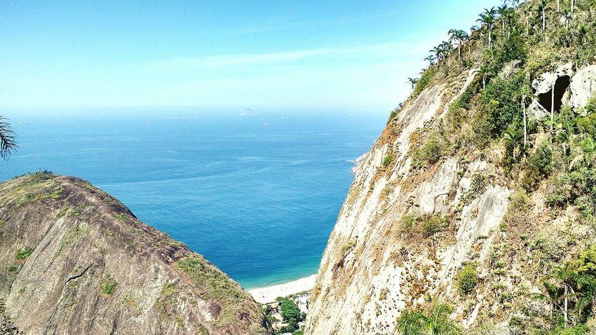 Praia de Itacoatiara vista da Pedra do Elefante! Pedra Do Elefante Nature Natureza Trilha Trekking Costão De Itacoatiara Itacoatiara