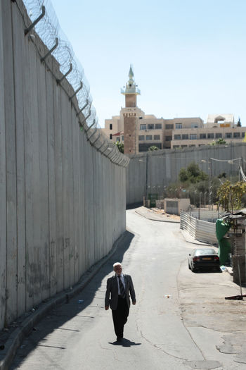 Aida Businessman Isreal  Middle East Palestine Refugee Refugee Camp Security Wall Wall Of Separation