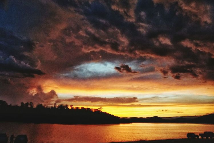 Sunset Cherokee Lake Tennessee Sunset And Clouds