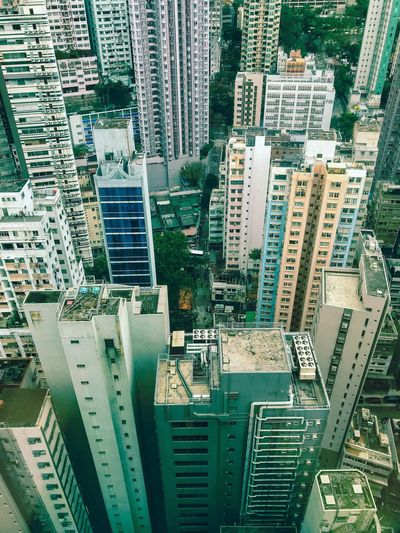 ShotOnIphone Hong Kong HongKong View From Above Vertigo Heights Height Built Structure Building Exterior No People Backgrounds Architecture Cityscape Building Office Building Exterior Residential District High Angle View City Skyscraper Nature Full Frame Pattern Tower Financial District  Day Aerial View Tall - High